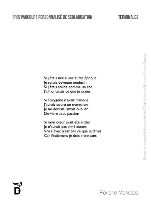 Si j'étais née à une autre époque écrit par Floriane Monrocq