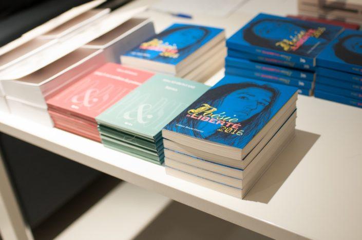 Recueil 2016 de Poésie en liberté publié aux Editions Bruno Doucey