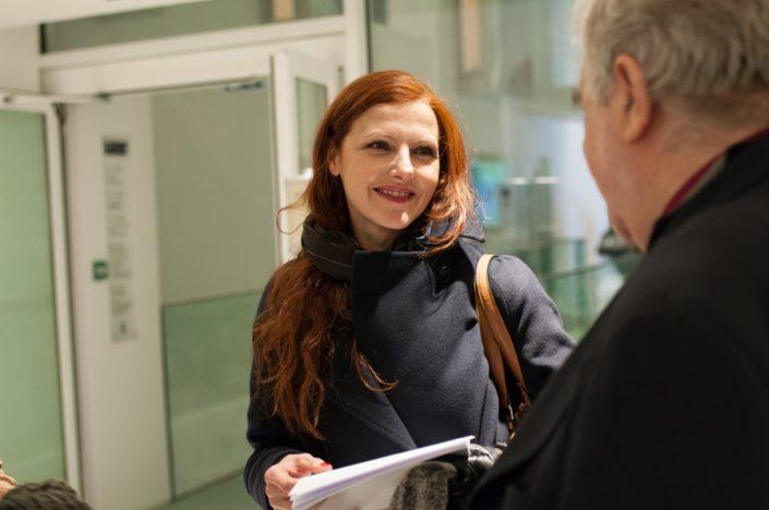 La comédienne Sophie-Charlotte Husson