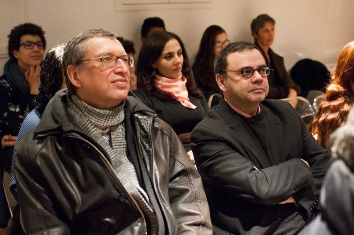 Michel Quinton, Directeur de La Salle Saint-Nicolas et Bruno Jarry