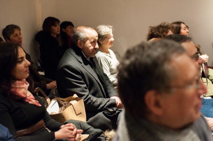 au centre, Rabah Kaabeche, Porte-parole du Président Jean-Marc Muller