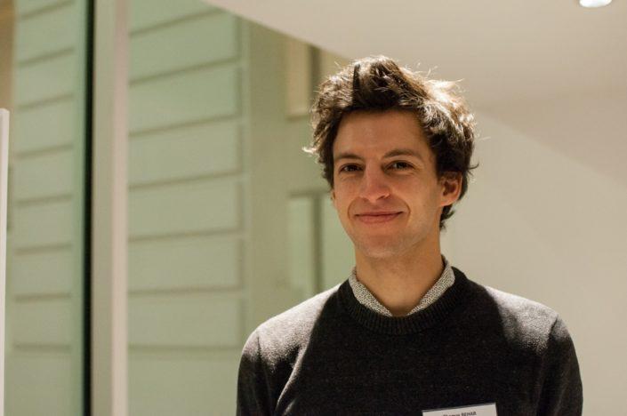 Thomas Behar, animateur à l'Espace Andrée Chedid