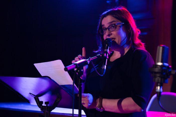 La comédienne Tatiana Gousseff