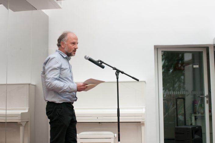 Etienne Orsini, poète et Chargé de mission à l'Espace Andrée Chedid