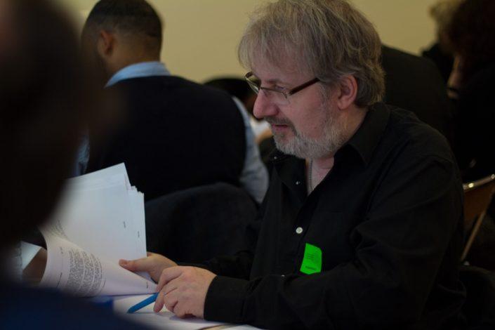 Eric Dubois, Poète, blogueur. Responsable de l'association et revue culturelle en ligne Le Capital des Mots