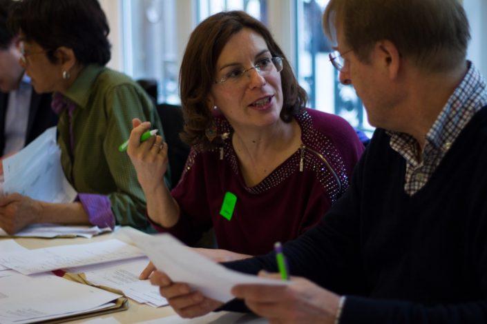 Delphine Jardin-Marteau, Déléguée SEM, MGEN et Svante Svahnström, Poète