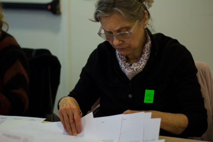 Liliane Tamussin, Journaliste, LA VOCE