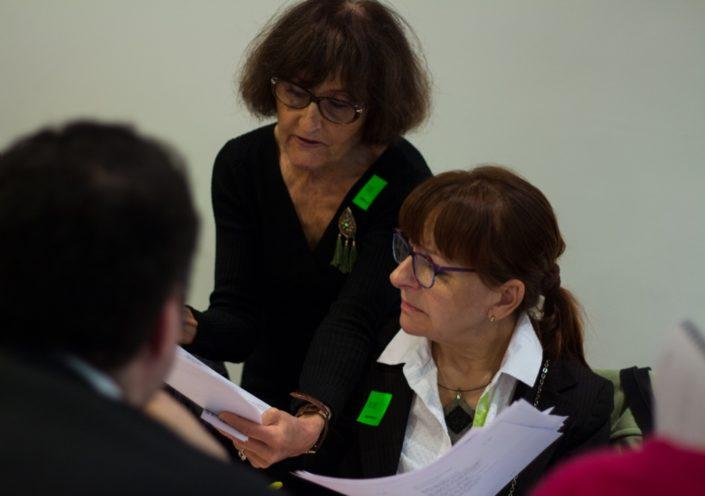 Rose Séguignes et Geneviève Dejardin