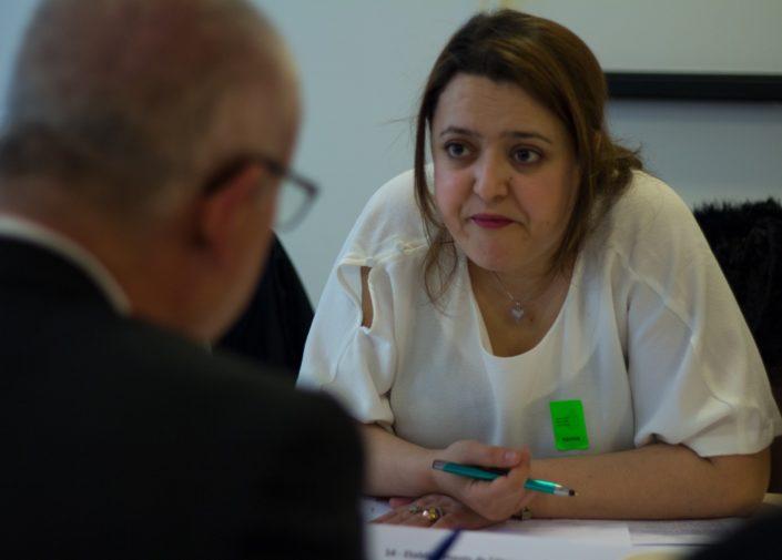 Lynda Ait Bachir, Poète-écrivaine, correspondante pour l'Algérie