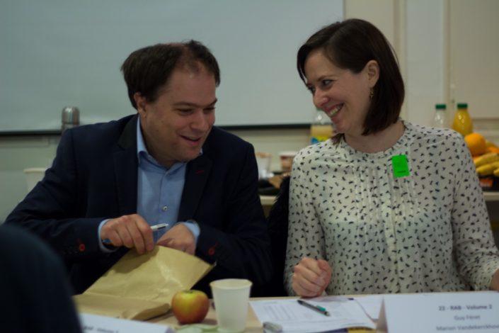 Matthias Vincenot et Marion Vandekerchove échappés du Cours de civilisation française de la Sorbonne