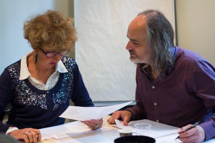 Christine Houyel, Inspectrice retraitée, Education Nationale et Patrice Mercier, Auteur comédien, NPA