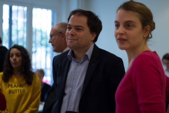 Matthias Vincenot et Pauline Drand