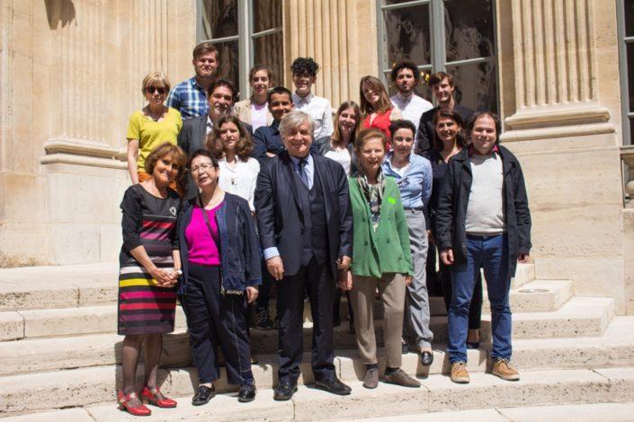 le Jury 2017 du concours au Ministère de l'Education nationale