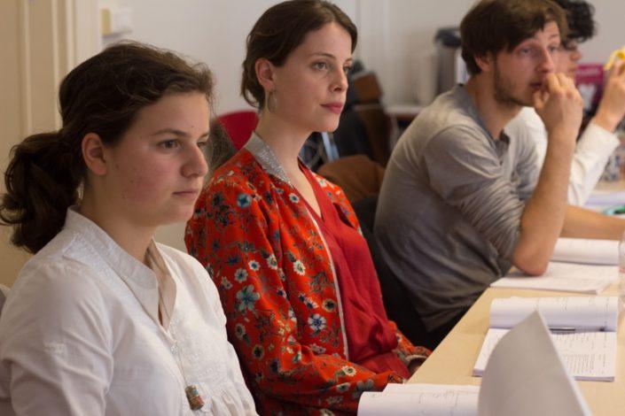 Fanny Guillot Salomon, Camille Pech de Laclause et Romuald Thonney
