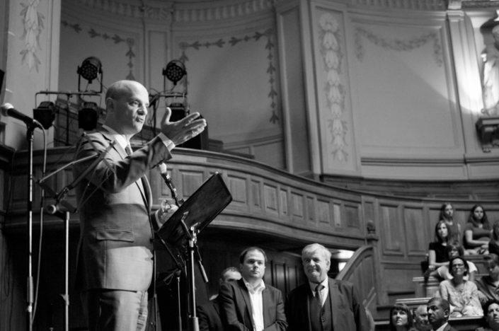 Jean-Michel Blanquer, Ministre de l'éducation nationale à la Sorbonne le 4 juillet 2017