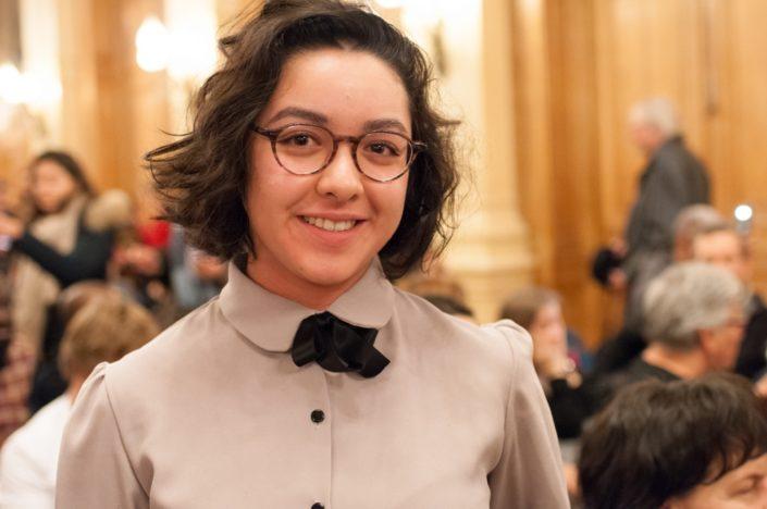 Mathilde Zupan, 3ème prix, Lycée René Descartes à Saint Genis Laval(69)