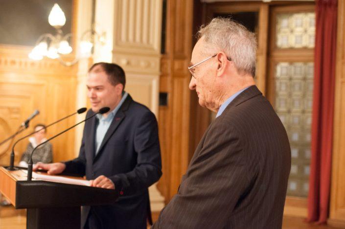 Matthias Vincenot présente Pierre Brunel