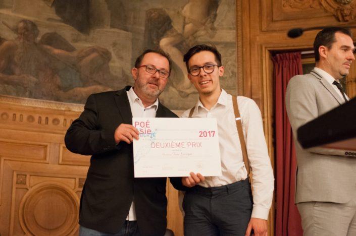 Sylvain Lemonnier de Kharacter et Tom Lévêque, IUT Paris-Descartes (75)