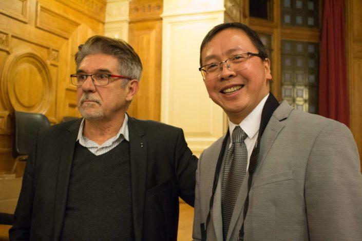 Guy Féret, Trésorier et Guy Kuan, Directeur financier
