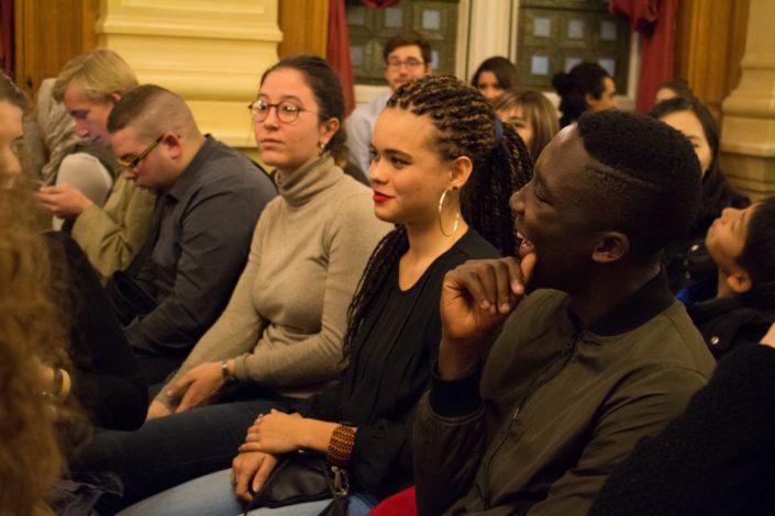 Cécile Cantat, Ecole Supérieure d'Agricultures à Angers (47), Maeva Lemercier et Harold Mensah Attoh du Lycée français de Lomé (Togo)