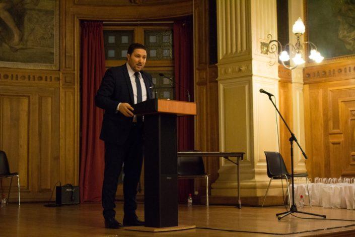 Mohamed Khaled, Premier Secrétaire, Ambassade d'Algérie en France