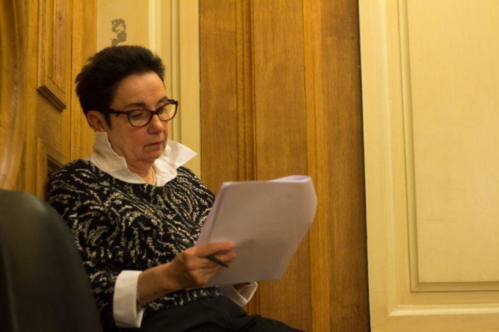 Nicole Simonet, Vice-Présidente d'honneur, Responsable du Jury