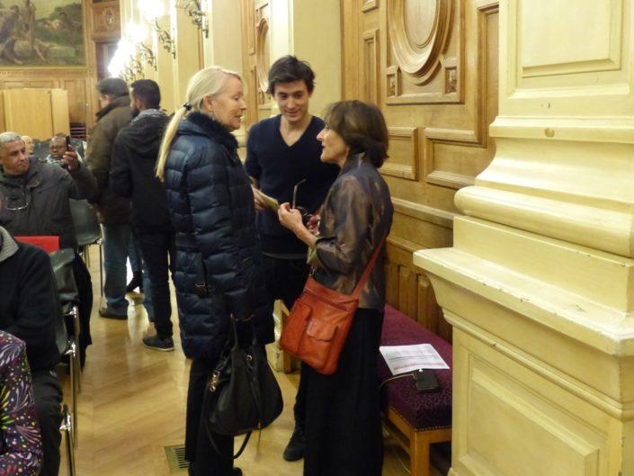 Rose Séguignes, Hélène et Florian Kuan
