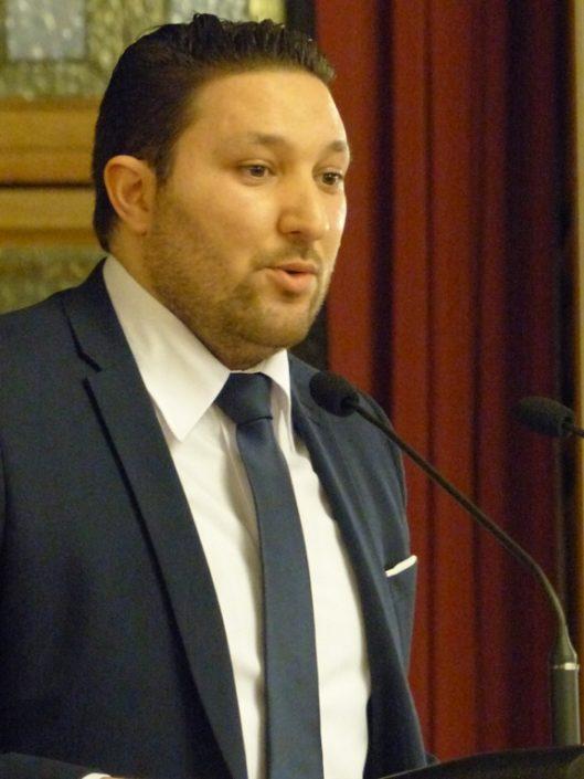 Mohamed Khaled, Premier Secrétaire près de l'Ambassade d'Algérie en France