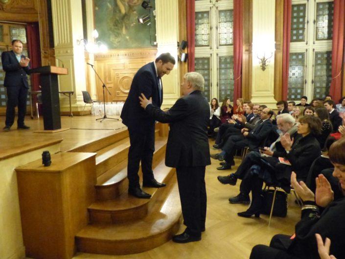 Mohamed Khaled, Premier Secrétaire près de l'Ambassade d'Algérie en France et Jean-Marc Muller