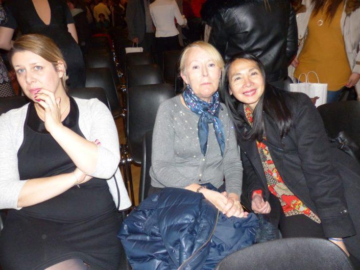 Mélanie Dumont-Torrès, Hélène Kuan et Eliane Kan, administrateurs
