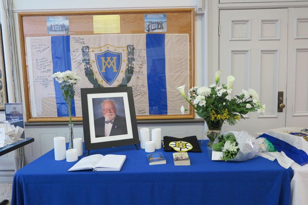 Hommage à Pierre Dubois au Collège de Montréal