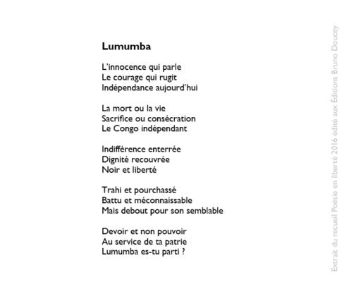 Lumumba écrit par Mahery Rakotoasimbola