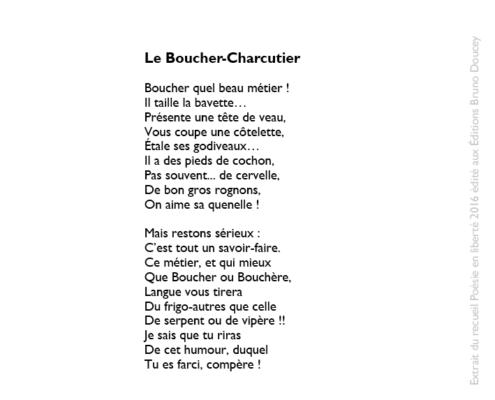 Le Boucher-Charcutier écrit par Thomas Joly