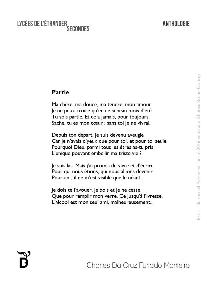 Partie écrit par Charles Da Cruz Furtado Monteiro