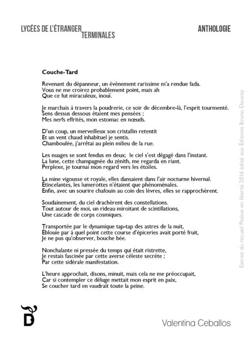 Couche-Tard écrit par Valentina Ceballos
