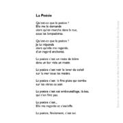 La Poésie écrit par Christian Vanhille