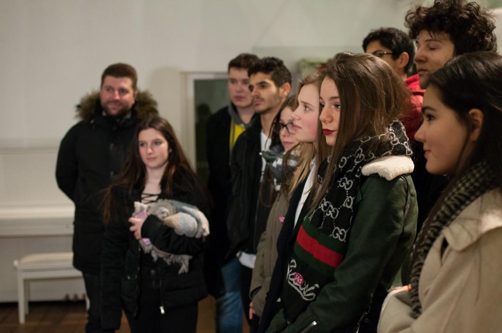 Les membres du Conseil Communal des Jeunes d'Issy-les-Moulineaux