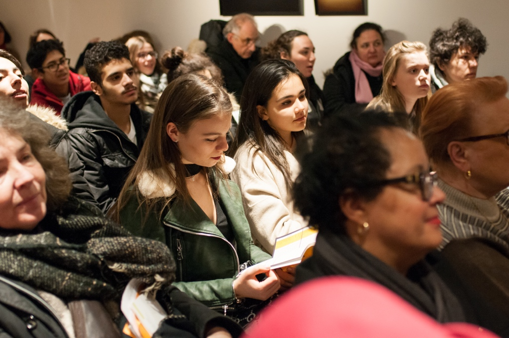 Un public attentif