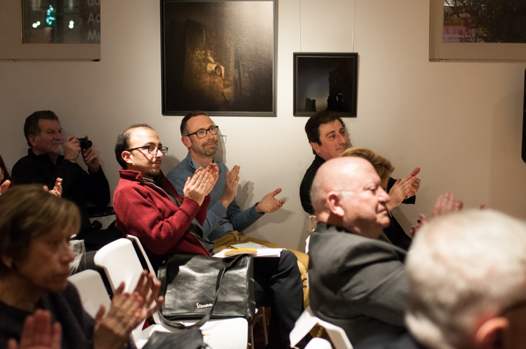 Au fond à droite, Alain Levy, Maire-Adjoint chargé des relations européennes et internationales