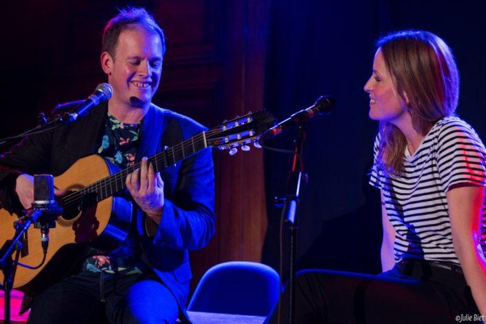 Un duo poétique : Thibaud Defever (Presque Oui) et Julie Bernard