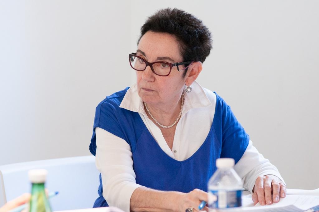 Nicole Simonet, agrégée de lettres, Responsable du jury, Vice-Présidente d'honneur