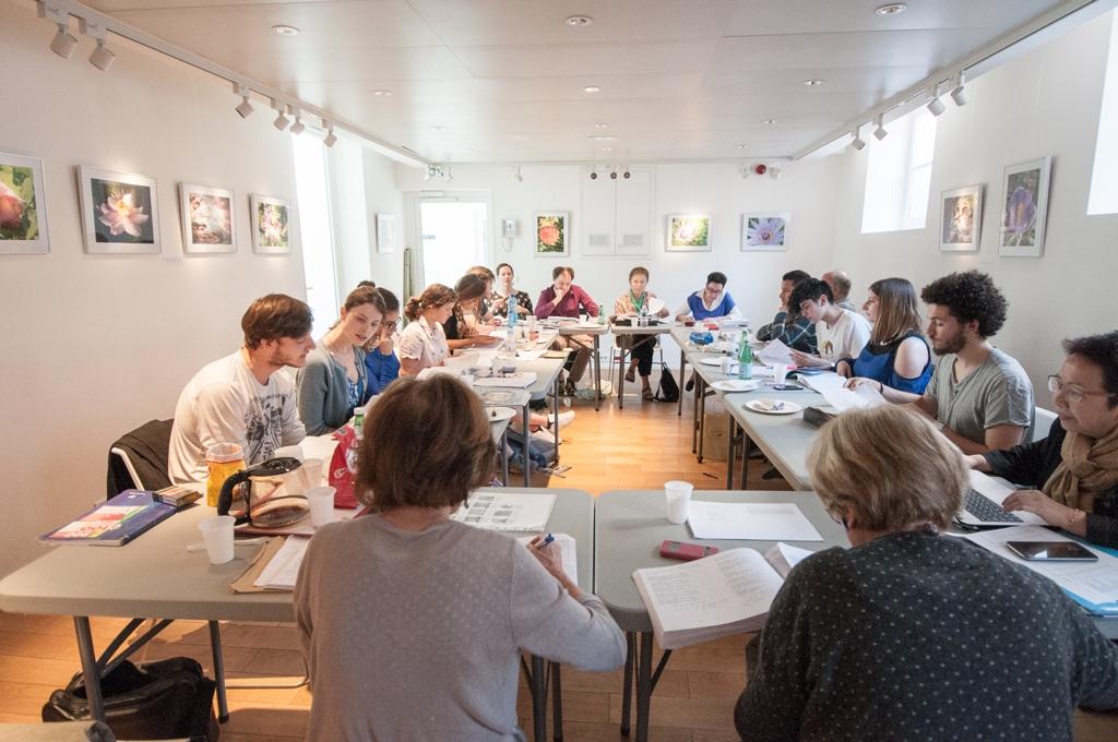 Le Jury 2017 à l'Espace Andrée Chedid à Issy les Moulineaux (92)
