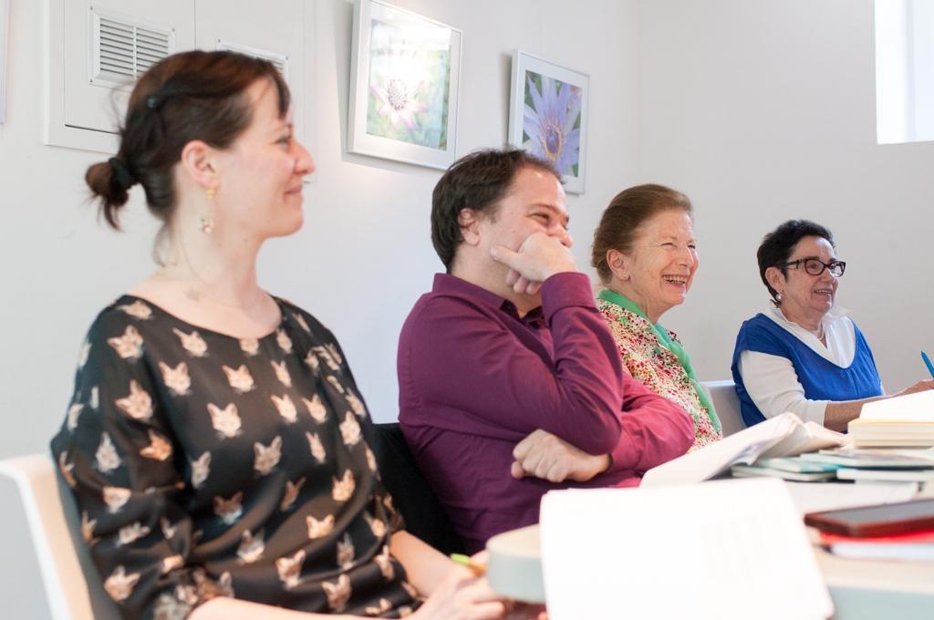 Marion Vandekerckhove, Matthias Vincenot, Colette Nys-Mazure et Nicole Simonet