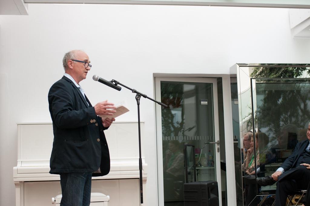 André Prodhomme, poète et Président du Jury 2013