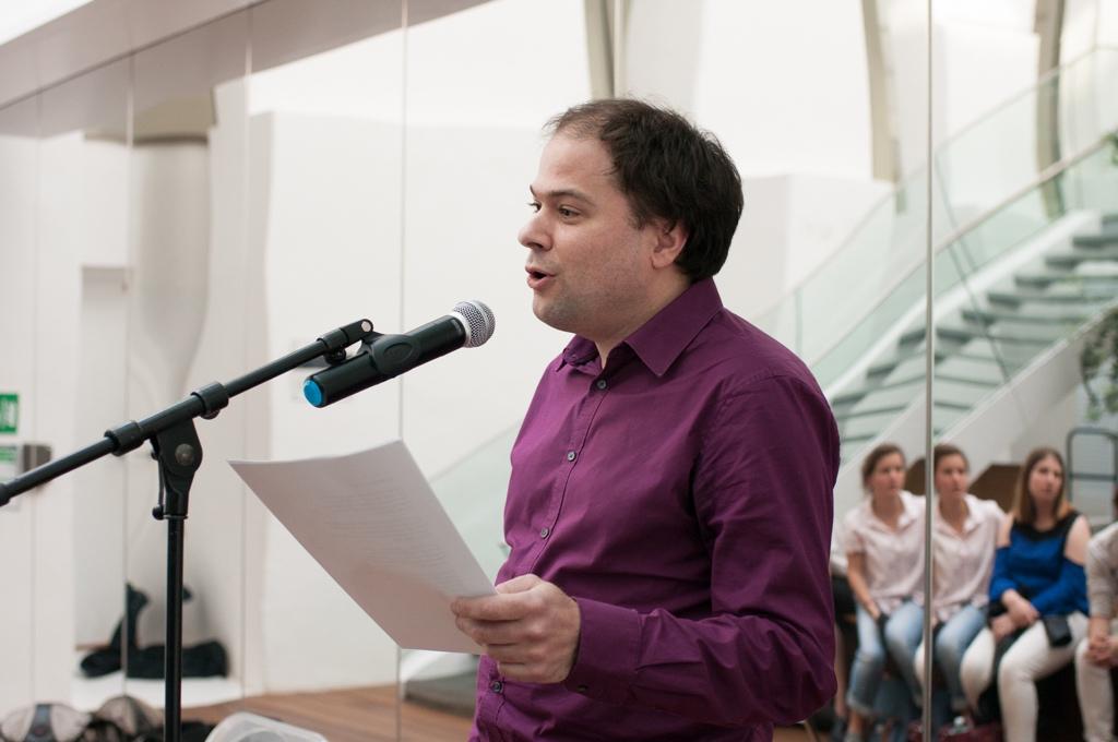 Matthias Vincenot, poète et Directeur artistique