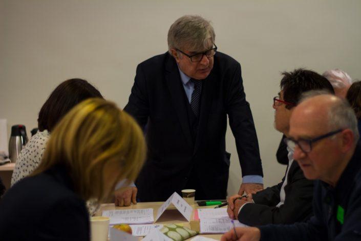 Jean-Marc Muller et Guy Féret, Trésorier de Poésie en liberté