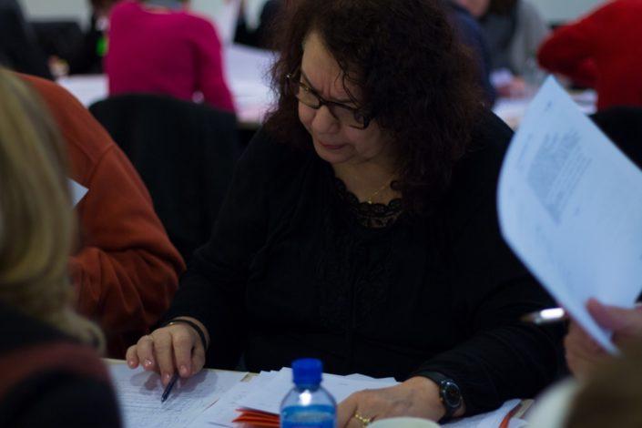 Danielle Josephe, Professeur de lettres et de FLE, administrateur de la Maison de la Poésie des Hauts de France