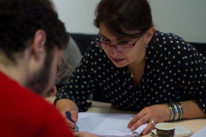 Dominique Pince-Salem, Chargée d'études / enseignante maître formateur, DGESCO MENESR en binôme avec Louis Romao, Compositeur