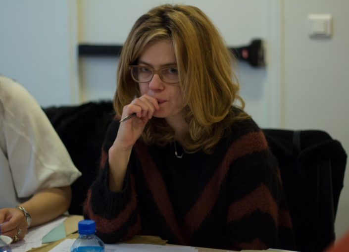 Julie Delarme, Comédienne