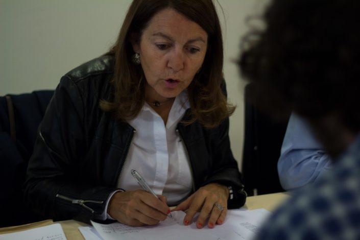 Elisabeth Batier, Professeur de lettres, Lycée Charles Péguy, Orléans (45